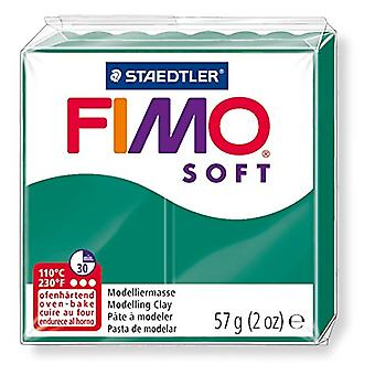 Fimo Soft Modelling Clay, Emerald, 57 g
