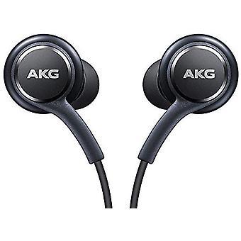 Echte Samsung Galaxy Note 9/Note 8/S10/S10e/S10 +/S9/S9 +/S8/S8 + handsfree koptelefoon/koptelefoon/headset met 3.5 mm Jack-tuned door AKG/Harman Kardon-zwart EO-IG955BSEGWW