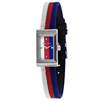 Gucci Women's G-Frame Blue Dial Watch - YA147508