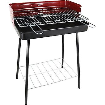 Coal Barbecue on Pied Algon Noir Rouge (52 x 37 x 71.5 cm)