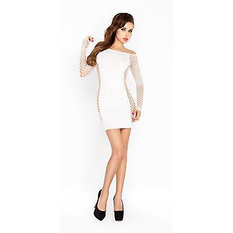 Mini vestido com mangas