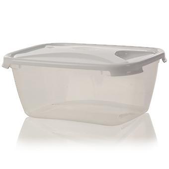 Wham Storage 6 Litre Cuisine Rectangular Plastic Food Box