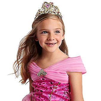 Disney Aurora Tiara for Kids - Sleeping Beauty Gold, Gold, Size One Size