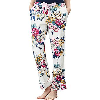 Joules Womens Snooze Tie Waisted Printed Pajama Bottoms