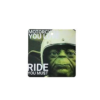Yoda moto Ride Car Air Freshener