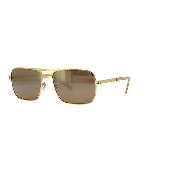 Maui Jim Compass H714 16 Gold/HCL Bronze Sunglasses