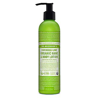 Dr Bronner, Patchouli Lime Lotion 236ml