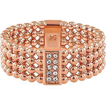 Tommy Hilfiger gioielli 2780099 anello - anello in acciaio moglie Rose Dor