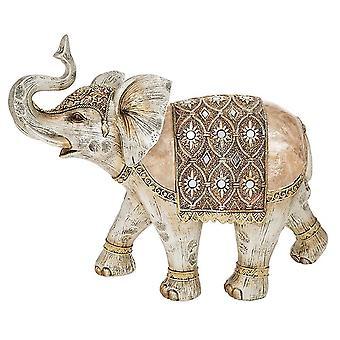 Shudehill Giftware Gold Capiz Elephant Giant