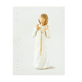 Willow Tree Truly Golden Greeting Card - Blank Inside