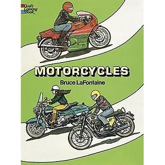 Motorcycles Colouring Book door Bruce LaFontaine