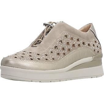 Stonefly Sport / Sapatos Z00 de Cor de Cabra Laminados