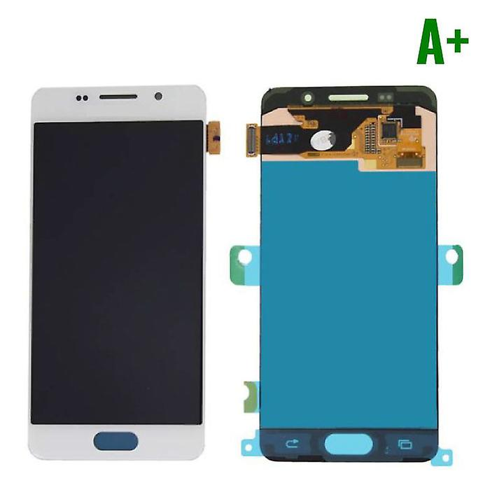 Stuff Certified® Samsung Galaxy A3 2016 A310 Screen (Touchscreen + AMOLED + Parts) A + Quality - White