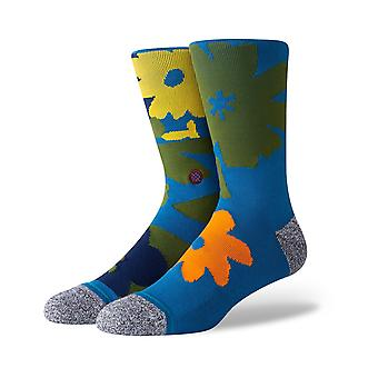 Stance New Tour Crew Socks in Blue