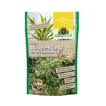 NEUDORFF Azet® FertiliserSticks for green plants, 40 sticks