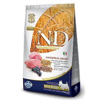 Farmina N&D Low Ancestral Grain Adult Mini Lamb and Blueberry