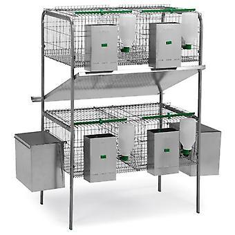 Gaun Cage modello Castilla 2 piani, 2 nidi, 2 DTOs (animali di piccole taglia, gabbie e parchi)