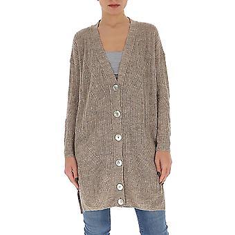 Gentry Portofino D740isg0114 Women's Beige Cotton Cardigan