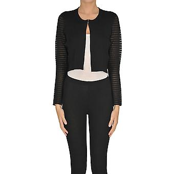 Nenette Ezgl266101 Women's Black Viscose Cardigan