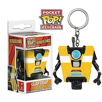 Borderlands Claptrap Pocket Pop! Avaimenperä