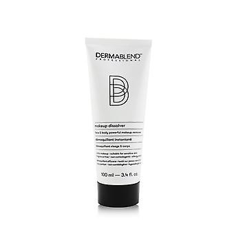 Rosto dissolvido de maquiagem dermablend e amp; Removedor de maquiagem poderoso do corpo - Adequado para pele sensível - 100ml / 3.4oz
