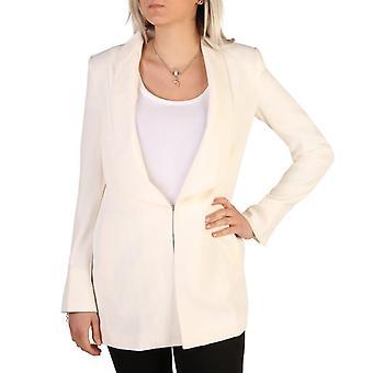 Guess women's blazer white 72g203 8309z