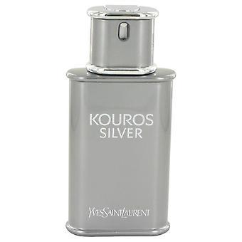 Kouros Silber Eau De Toilette Spray (Tester) von Yves Saint Laurent 3.4 oz Eau De Toilette Spray