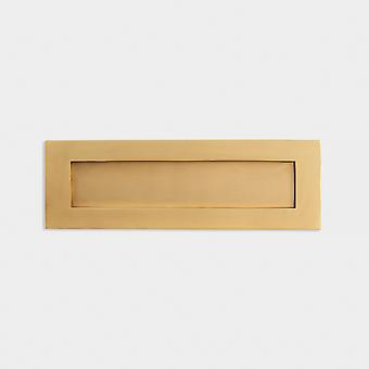 Brass Letter Plate - Gold - 353mm