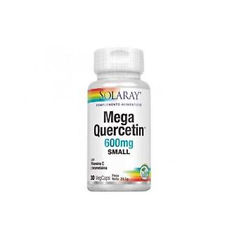 Solaray Mega Kwercetyna 600 Mg 30 Kapsułki