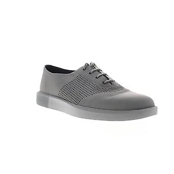 Camper Zwillinge Herren grau Leder Casual Lace Up Oxfords Schuhe