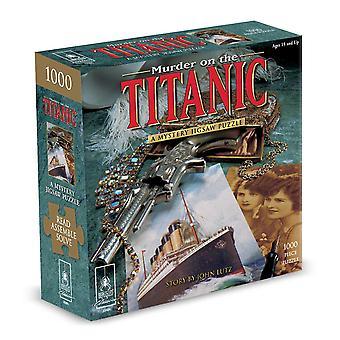Crimă pe Titanic Murder mister Jigsaw Puzzle (1000 bucăți)