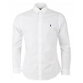 Polo Ralph Lauren Slim Langarm Baumwolle Popeline Hemd