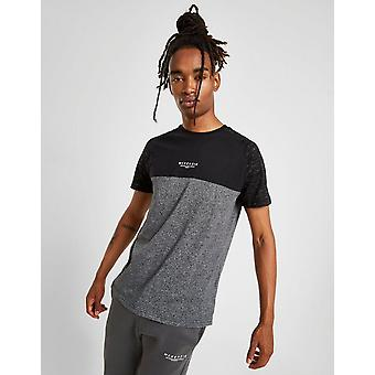 Novos homens McKenzie ' s Storm 2 manga curta T-shirt preto