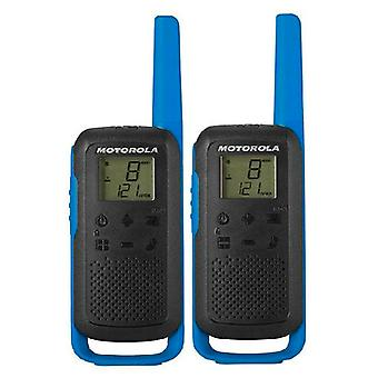 Walkie-Talkie Motorola B6P00811 (2 st)/Blå