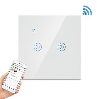 Smart Wifi switch with touch 2-polig
