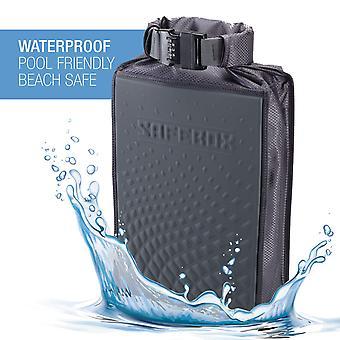 Lewis N. Clark Safebox Portable Safe with Anti Theft, Medium, Size Medium