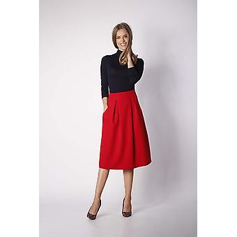 Red nommo skirts