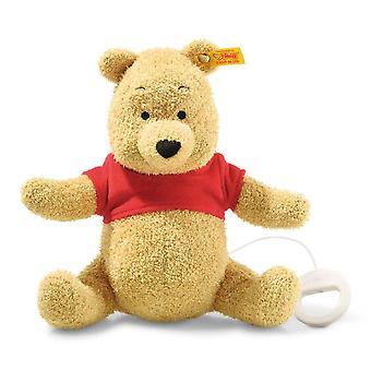 Steiff Winnie the Pooh with playbox 21 cm