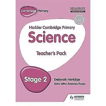 Hodder Cambridge Primary Science Teacher's Pakke 2 av Deborah Herridge