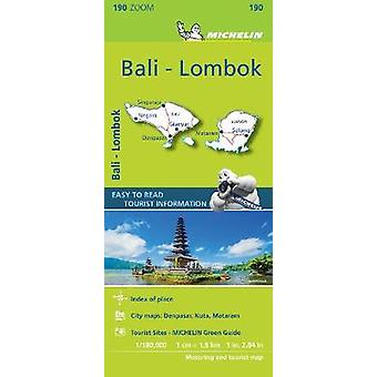 Bali-Lombok - Zoom Map 190 - Map - 9782067235281 Book