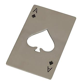 TechBrands 316 Stainless Ace Of Spades Card Bottle Opener
