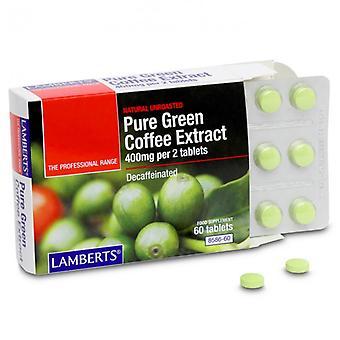 Lamberts Pure Green Coffee Extract Tabs 60 (8586-60)