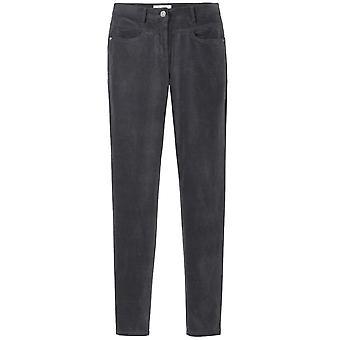 Sandwich Clothing Wnter Grey Velvet Trousers