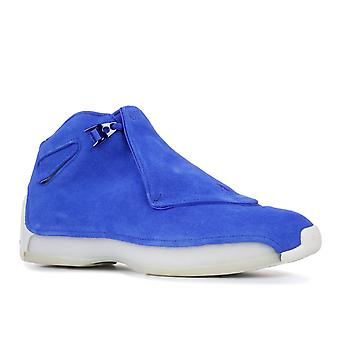 Air Jordan 18 Retro 'Blue Suede' - Aa2494-401 - Sapatos