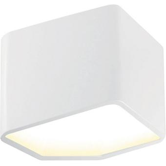 White Metal White Space Color Beath 16.4x9.2x11.4 cm