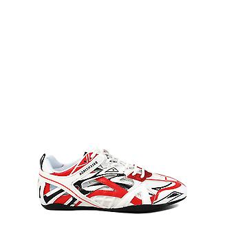 Balenciaga 624344w2fd16019 Women's White/red Synthetic Fibers Sneakers