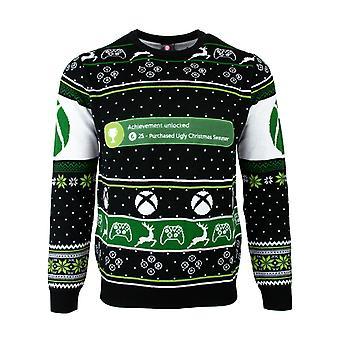 Officiële Xbox One Achievement ontgrendeld kerst jumper/lelijke trui