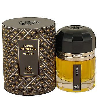 Ramon Monegal Mon Cuir Eau De Parfum Spray By Ramon Monegal 1.7 oz Eau De Parfum Spray