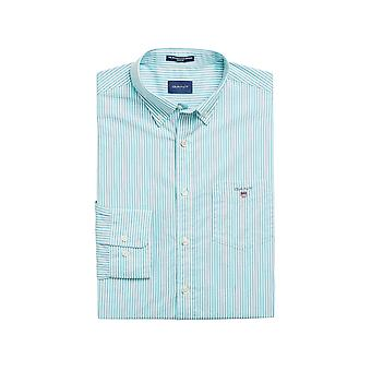 Gant Men's Bestseller Banker Broadcloth Shirt Regular Fit