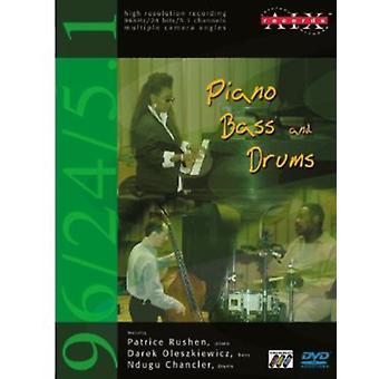 Piano basso & batteria [DVD-Audio] USA importare